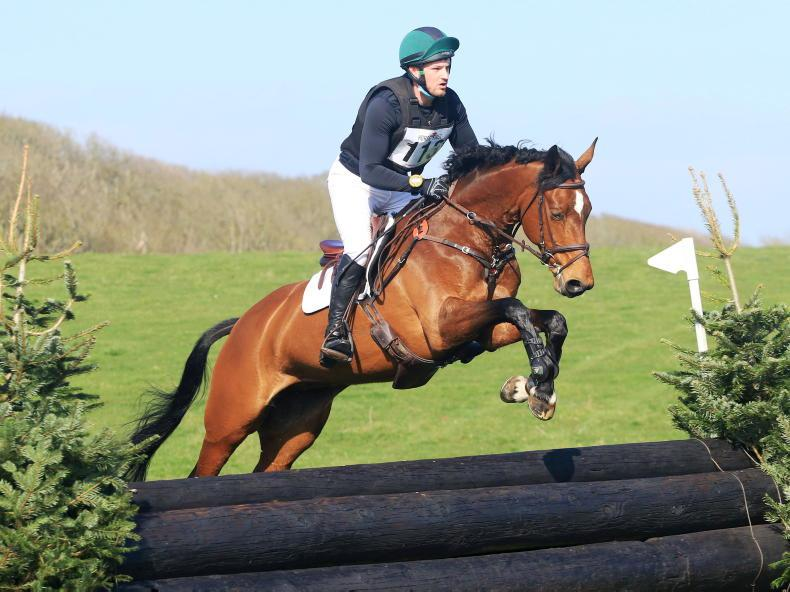 EVENTING: Lukas delivers Easter gift for Speirs