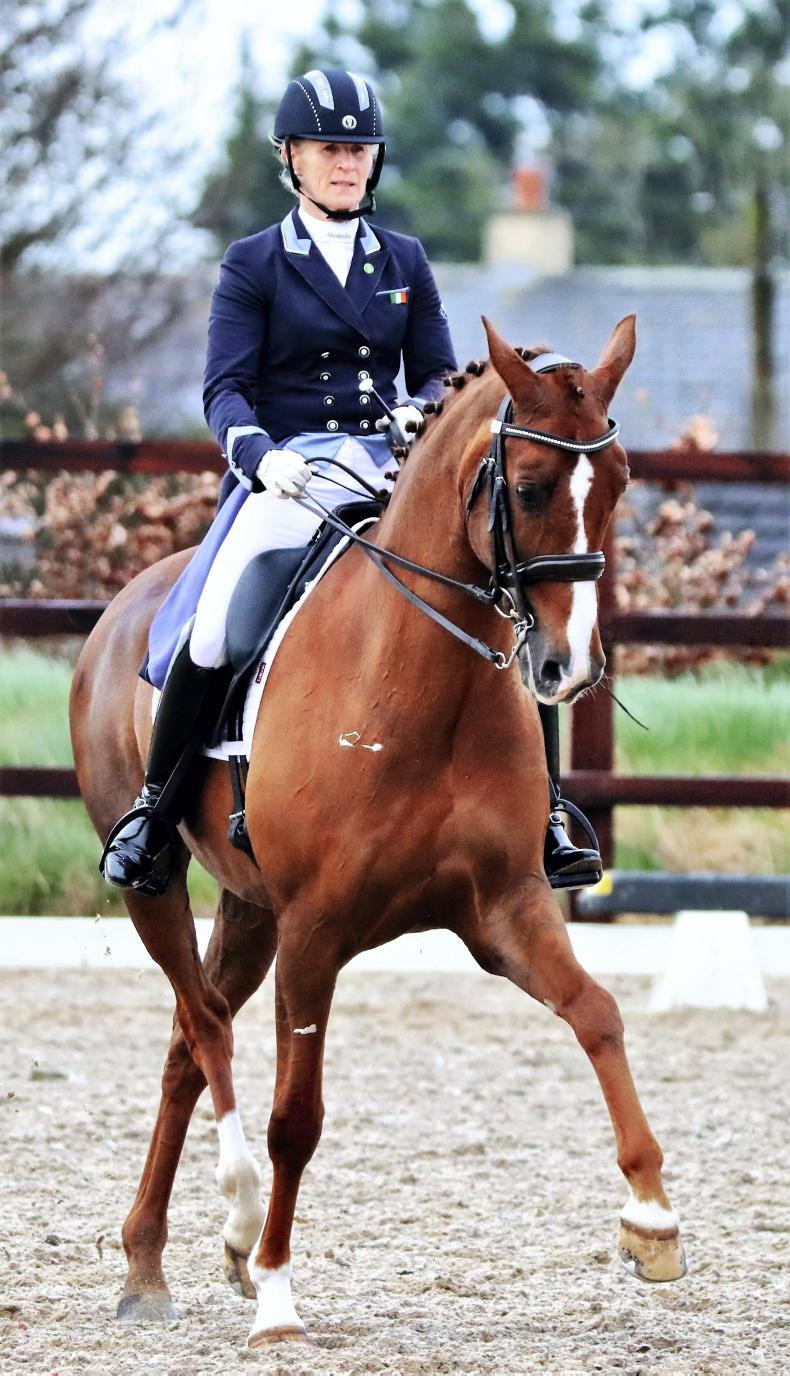 DRESSAGE: 'Captain' Brereton rules with double