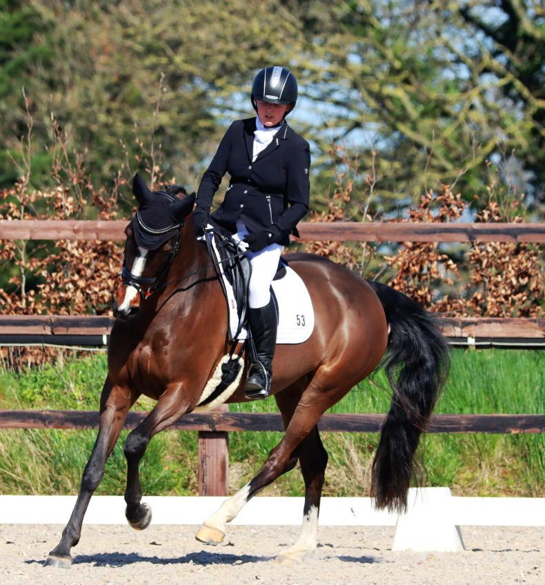 DRESSAGE: Deverell impresses with double