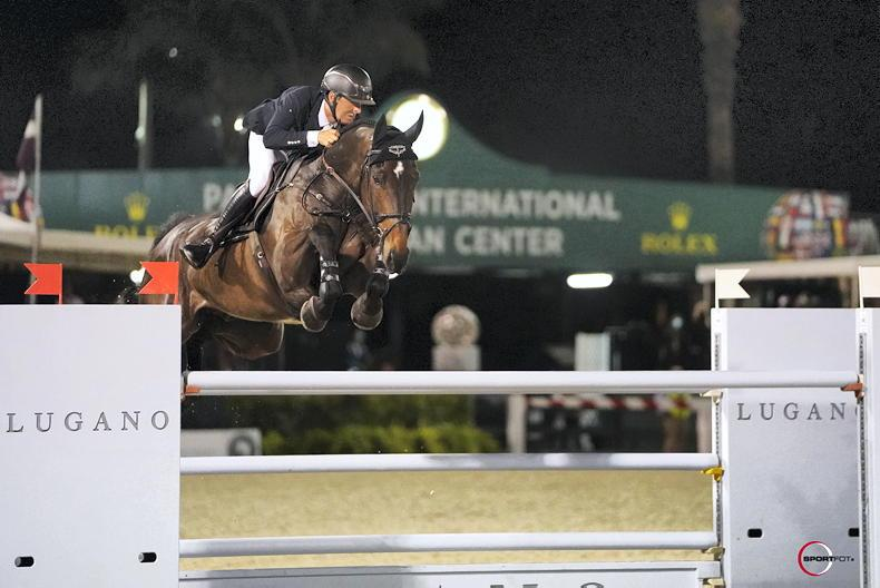 SHOW JUMPING: Irish riders netted over $1 million during WEF 2021