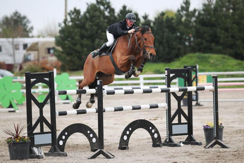 SHOW JUMPING: No Accidental victory for Floody