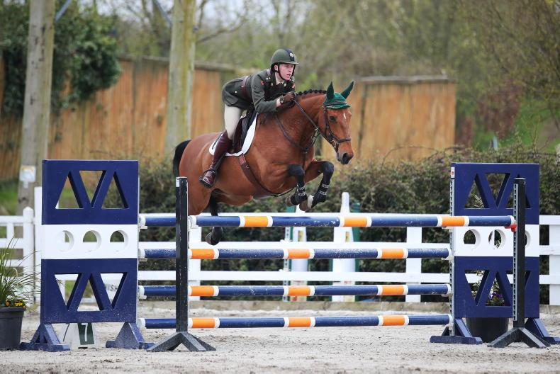 SHOW JUMPING: Lt Whyte lands 1.30m victory