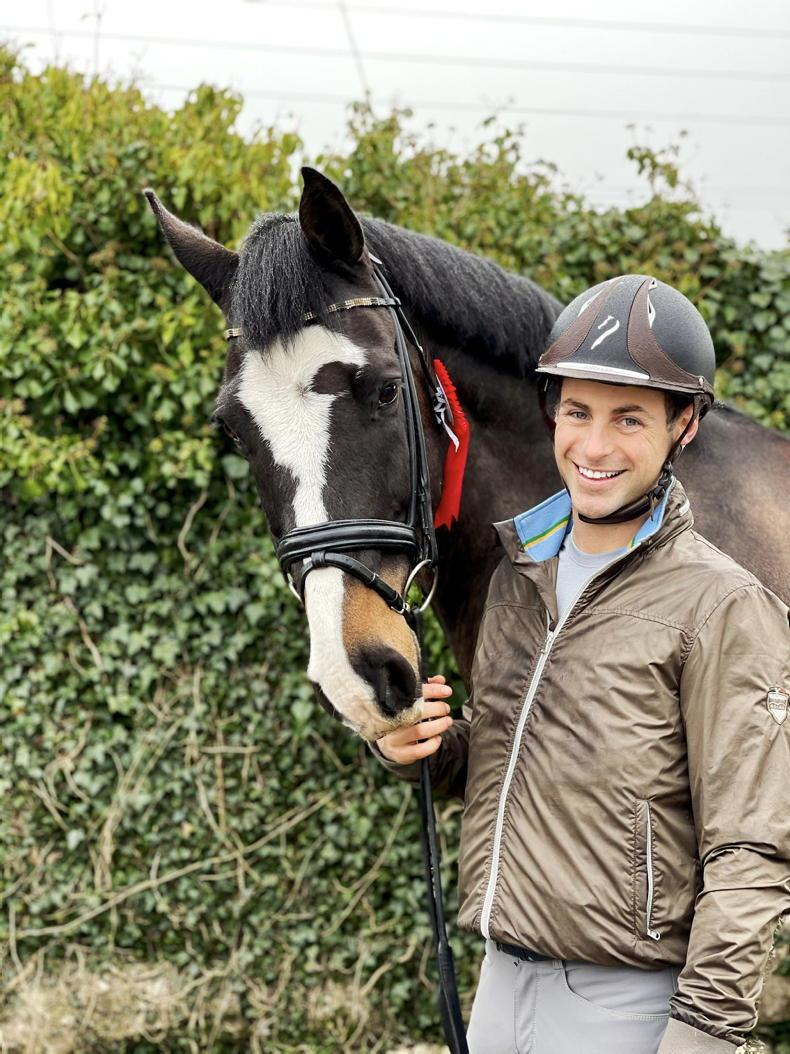 DRESSAGE: Western doubles for Gaffney and Curran