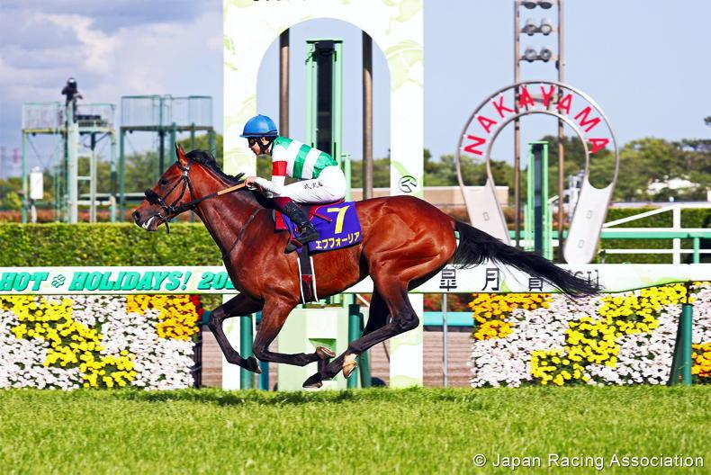 JAPAN: Efforia eases to classic success