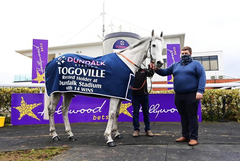 Dundalk Stadium honours racing legend Togoville