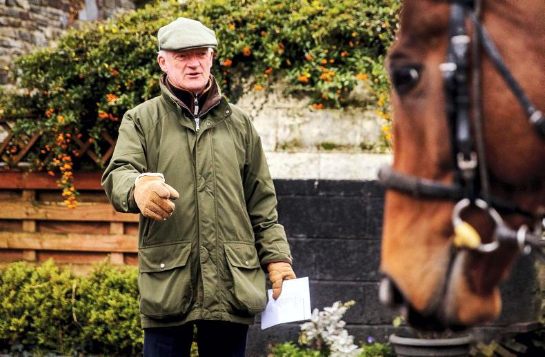 TALKING TRAINER: Mullins gearing up for Festival flourish