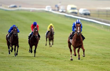 Mohaafeth roars into Derby reckoning at Newmarket