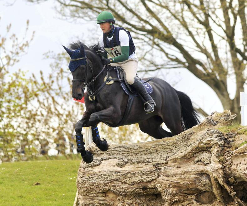 EVENTING: White's final masterly touch shows through