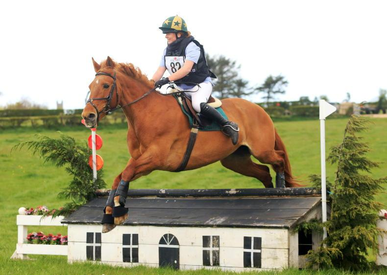 EVENTING: No contest for Imperial Black Pearl
