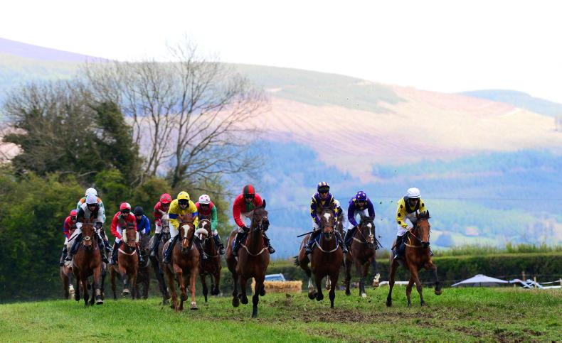 POINT-TO-POINT PICTURE DESK: Action from between the flags