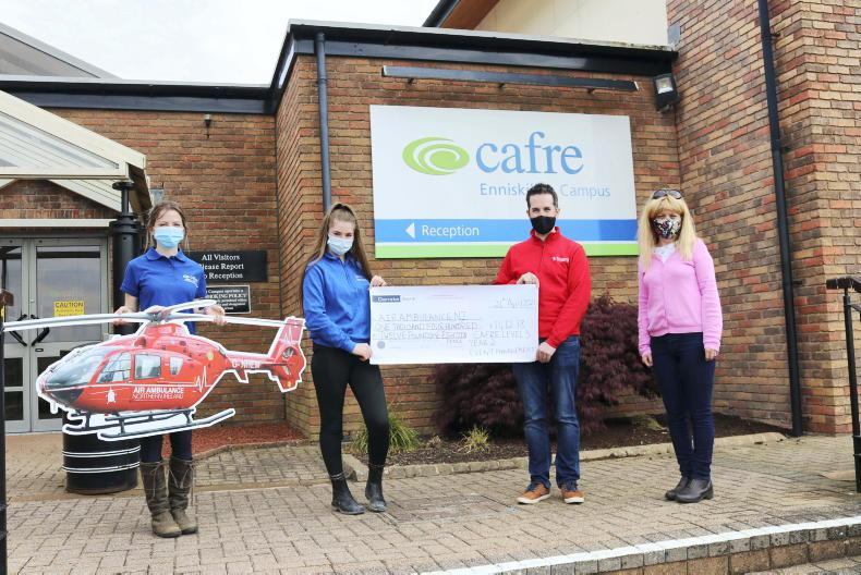 PONY TALES: CAFRE raises over £1,400 for Air Ambulance NI