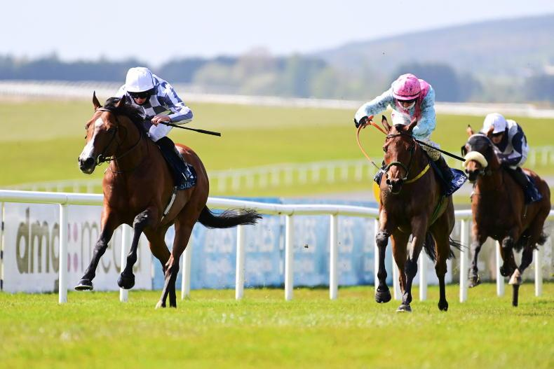 CURRAGH MONDAY: Broome sets up a return to top level with Mooresbridge win