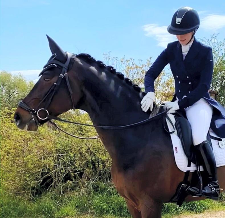 DRESSAGE: 'I would love to represent my country at international level'