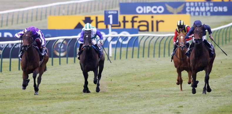 BRITAIN: Mother makes experience count for classic glory