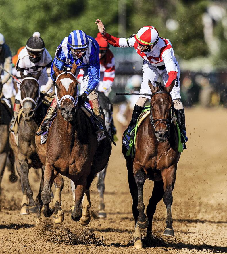 AMERICA - KENTUCKY OAKS: Mighty Malathaat marches on