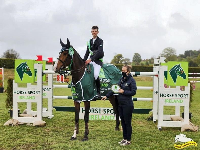 SHOW JUMPING: Gallagher scores Premier win at Barnadown