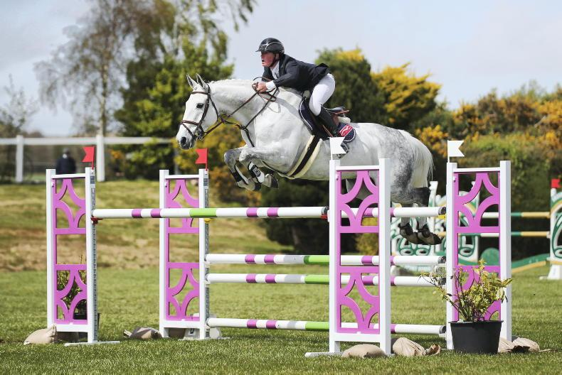 SHOW JUMPING: Derwin off to a flyer with AHG Whiterock Cruise Down