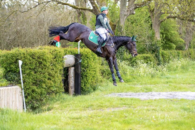 EVENTING:  LCC King Jullian delivers for Duffy