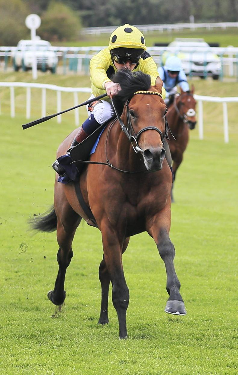 TIME WILL TELL: Strong-staying Realm right for Epsom