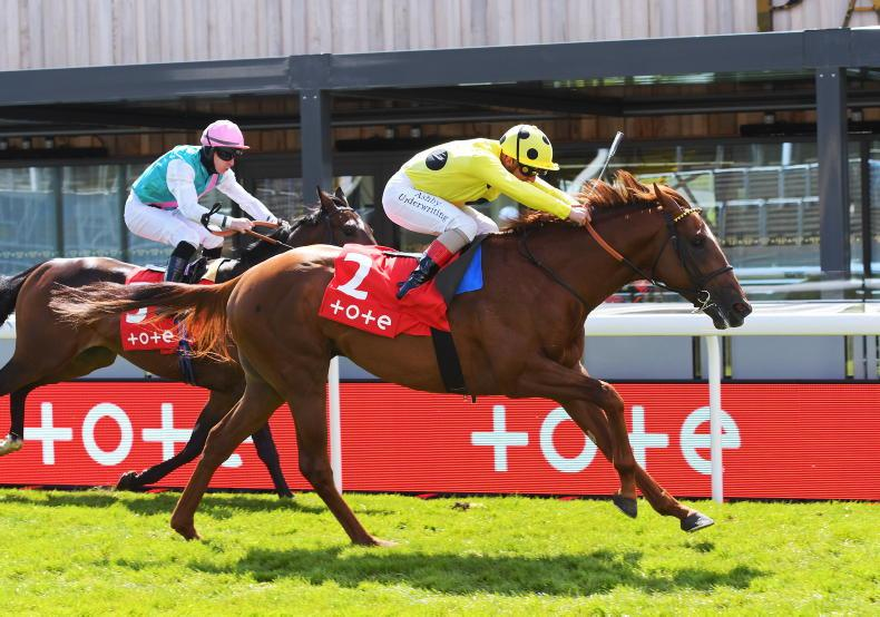 TIME WILL TELL: Oaks distance to suit Dubai Fountain