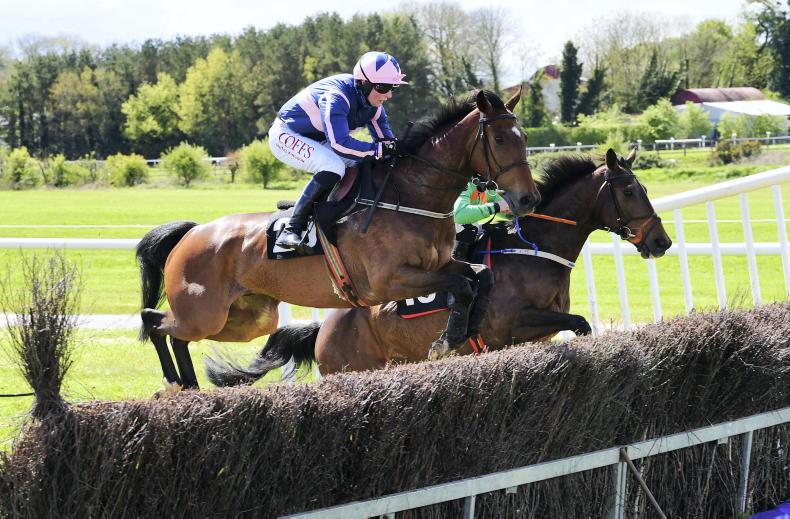 POINT-TO-POINT: PUNCHESTOWN: Nina notches up first winner