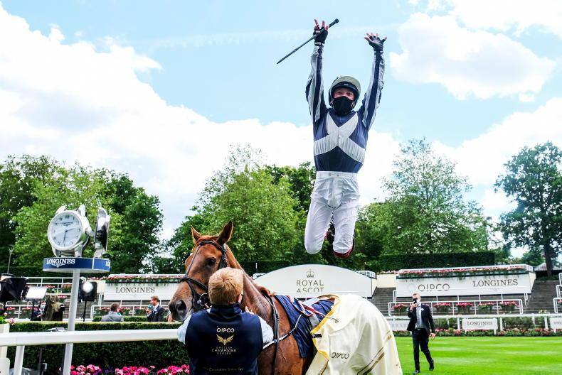 Dettori delight as Royal Ascot crowd is bolstered to 12,000