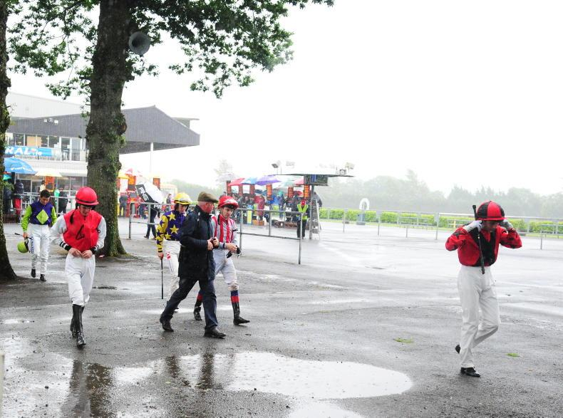 Waterlogged Beverley and Gowran abandon cards