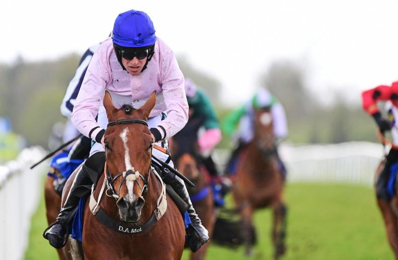 VIEW FROM ABOVE: Imperial Ruler romps home for Conway