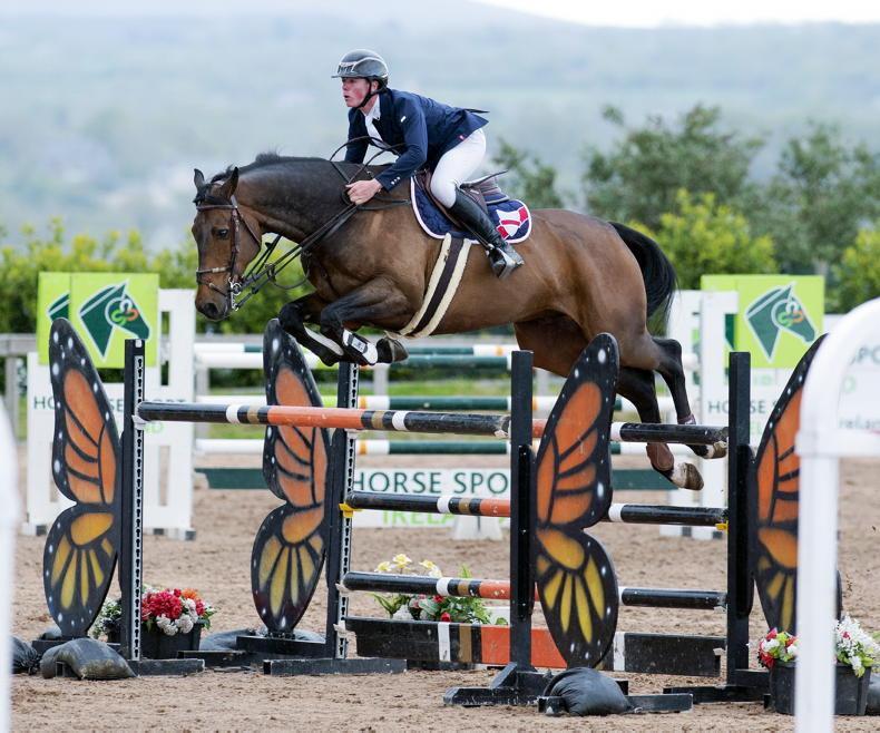 SHOW JUMPING: Derwin digs 'Deep' to triumph