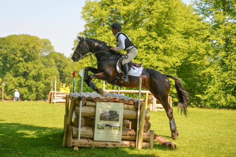 EVENTING: Steele takes Centre Stage