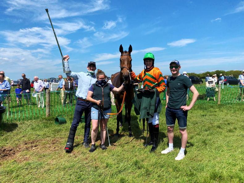 BRITISH POINT-TO-POINT: Houlihan has sights on novice title