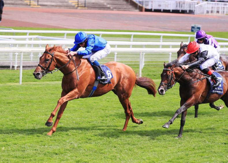 RORY DELARGY: Rain will suit this Derby 8/1 shot