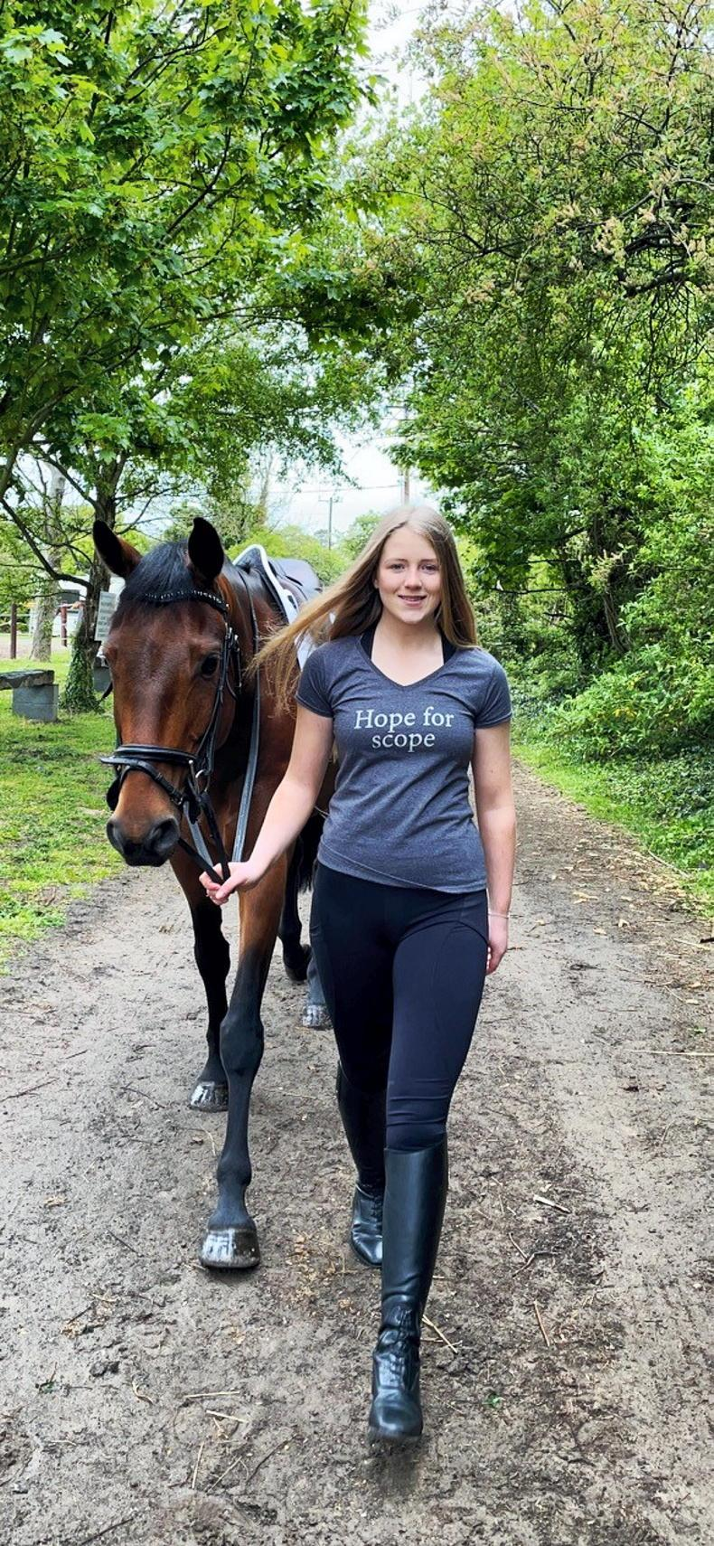 PONY TALES: Amy makes her EI debut