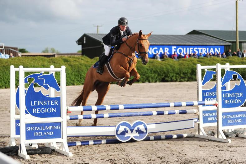 SHOW JUMPNG: Claddagh Lady Jane shows her talent