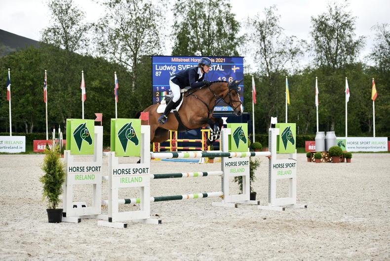 MILLSTREET INTERNATIONAL: Svennerstal just edges Price to take victory