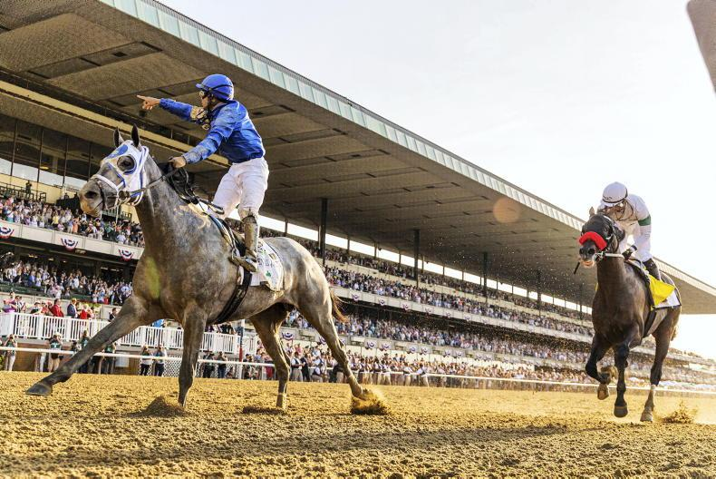 AMERICA: 'Belmont Horse' wins classic battle