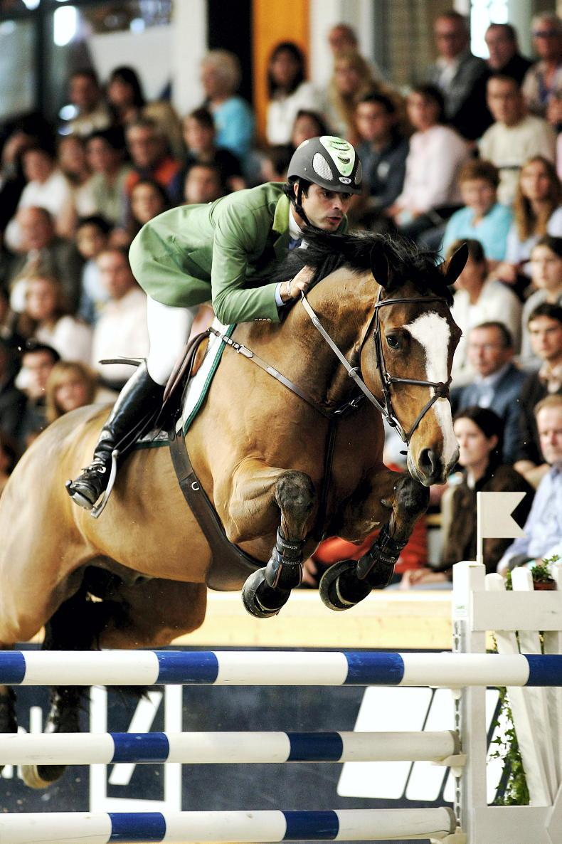 ALL IN THE FAMILY: 'For me, a showjumper is born, not made'