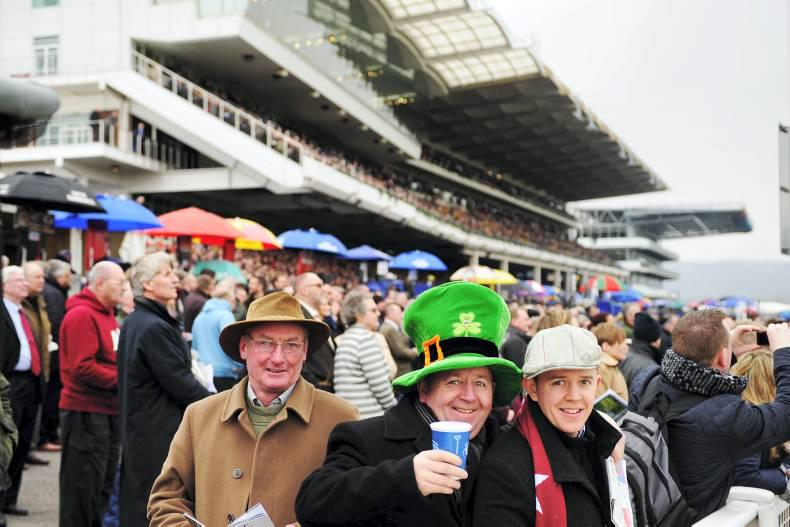 CHELTENHAM: In the Betting Ring - Wednesday