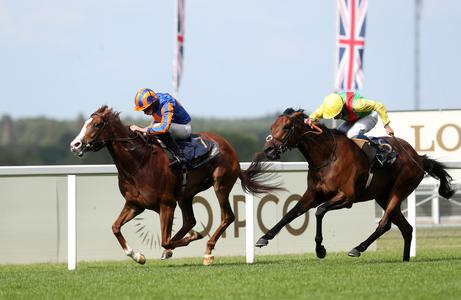 Love all heart and class in Prince of Wales's Stakes