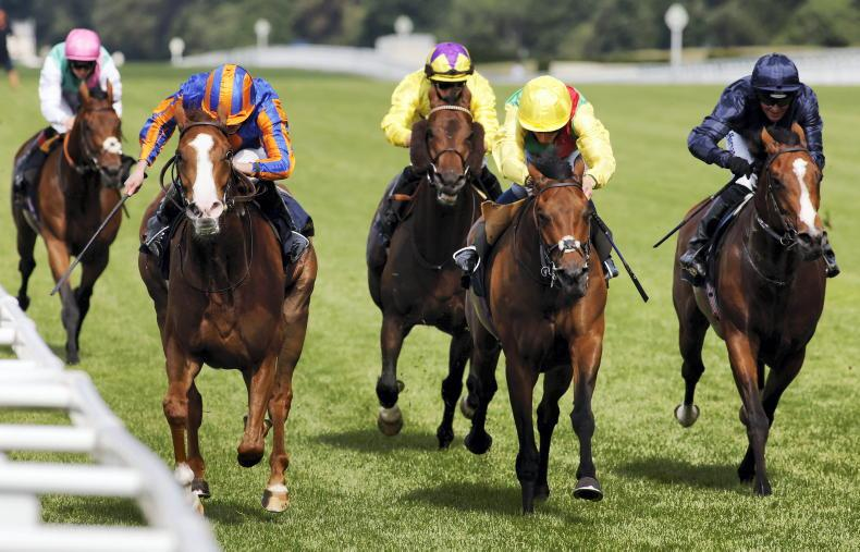 ROYAL ASCOT WEDNESDAY: Love lights up Ascot with determined comeback win