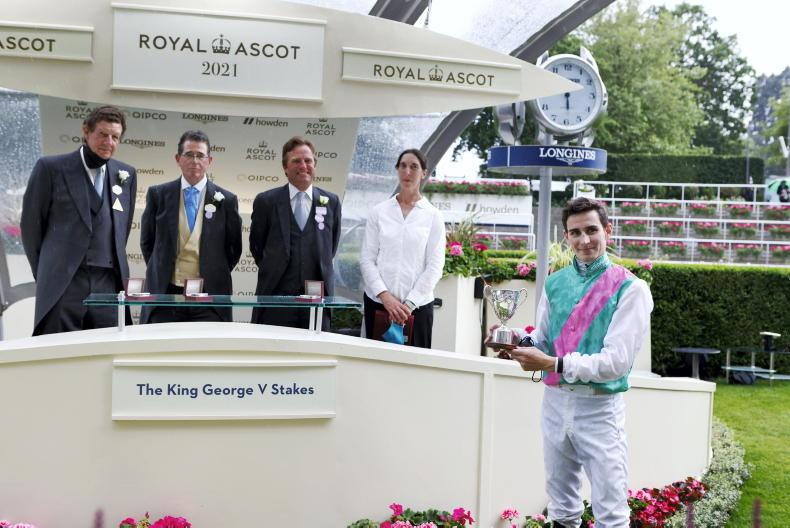 ROYAL ASCOT THURSDAY: Perotto settles and stays