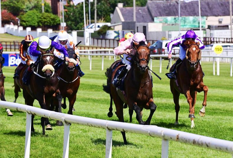 DOWN ROYAL SATURDAY: Iowa leads home O'Brien one-two in Ulster Derby