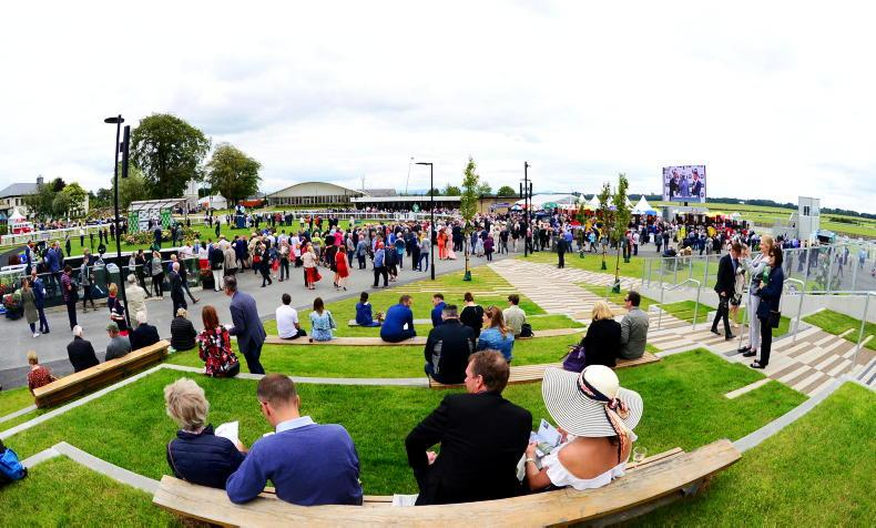 What's happening at the Curragh today?