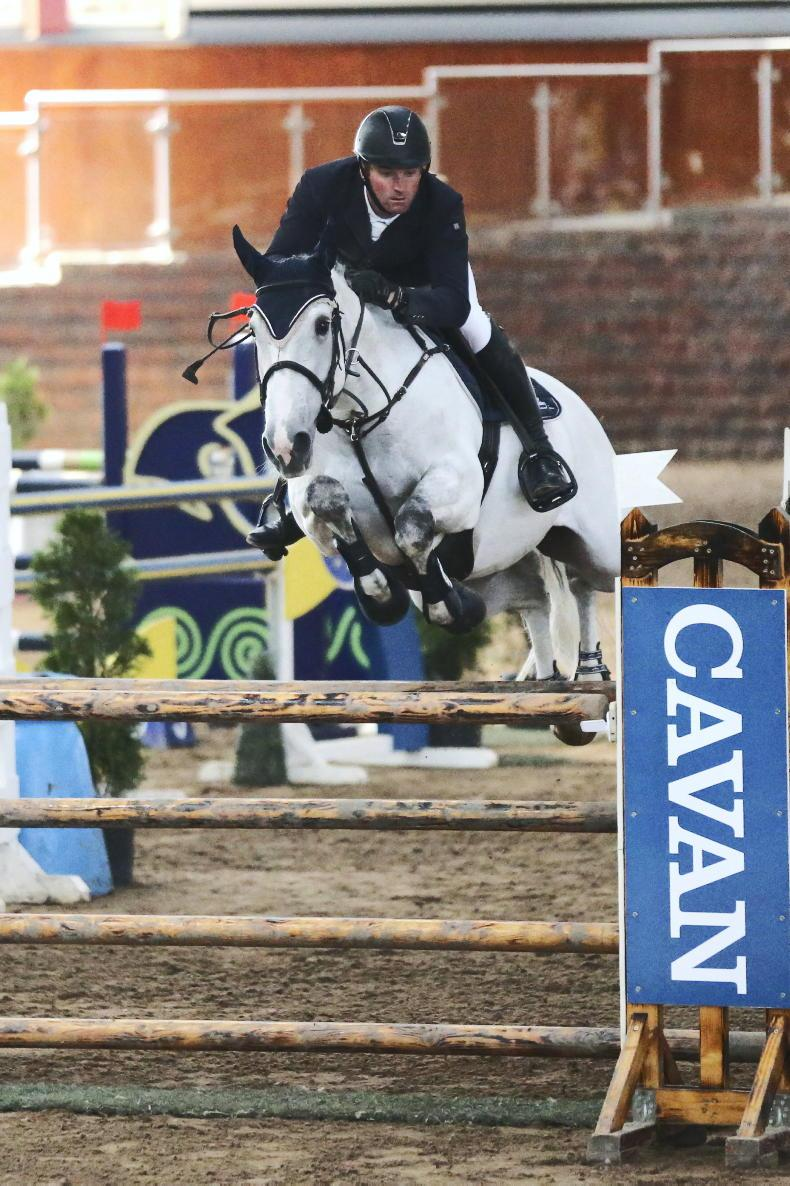 SHOW JUMPING: Comfortable win for Achonry Carie
