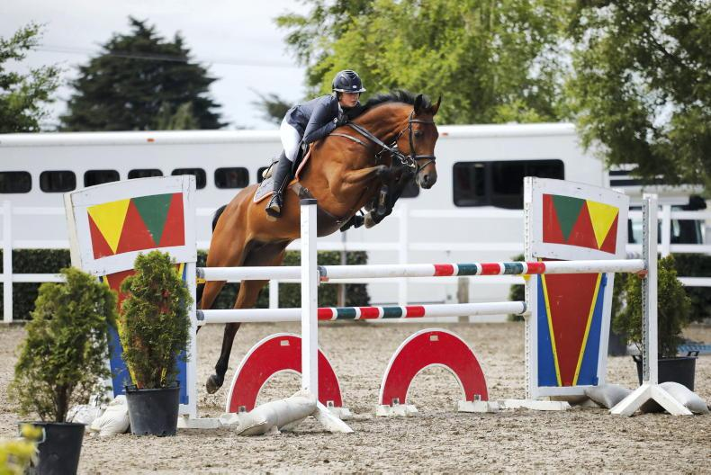 SHOW JUMPING: Mehigan proves the one to beat