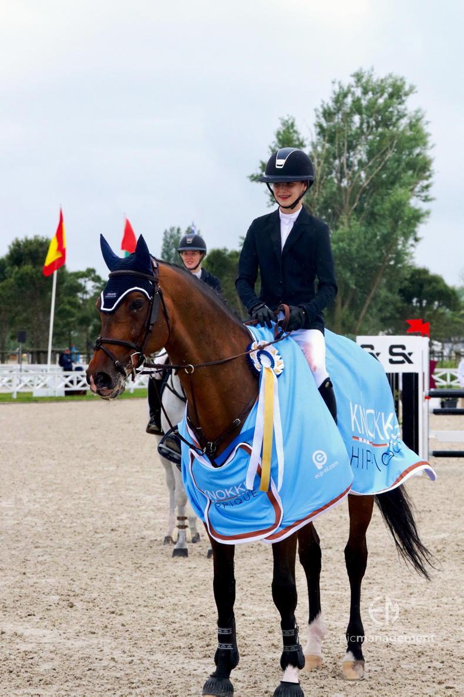 INTERNATIONAL: Knokke win for Alice Wachman