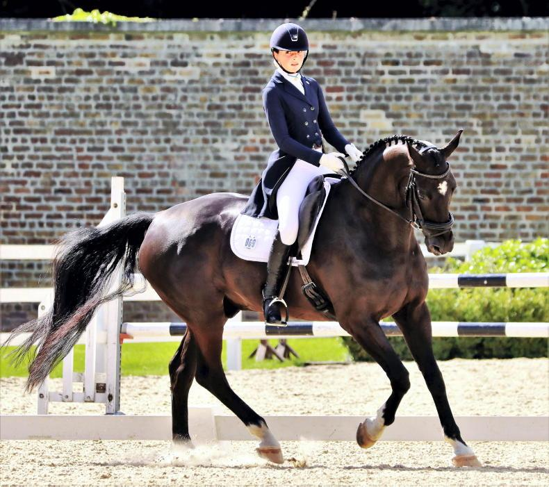 DRESSAGE: Doubles galore for riders at Raheen