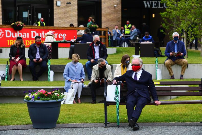 CURRAGH: Oh, and yes, there was great racing