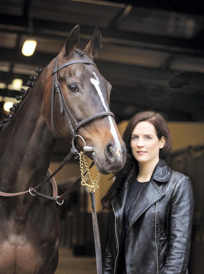 PARROT MOUTH: Rachael buys Irish