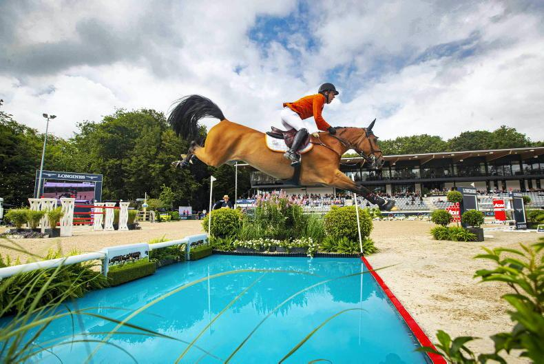 SHOW JUMPING: Dutch clinch victory on home ground in Rotterdam